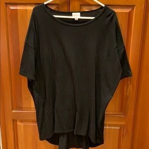 Black LuLaRoe Irma top